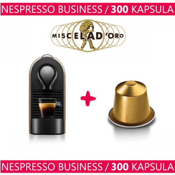 Nespresso Business - Aparat + 300