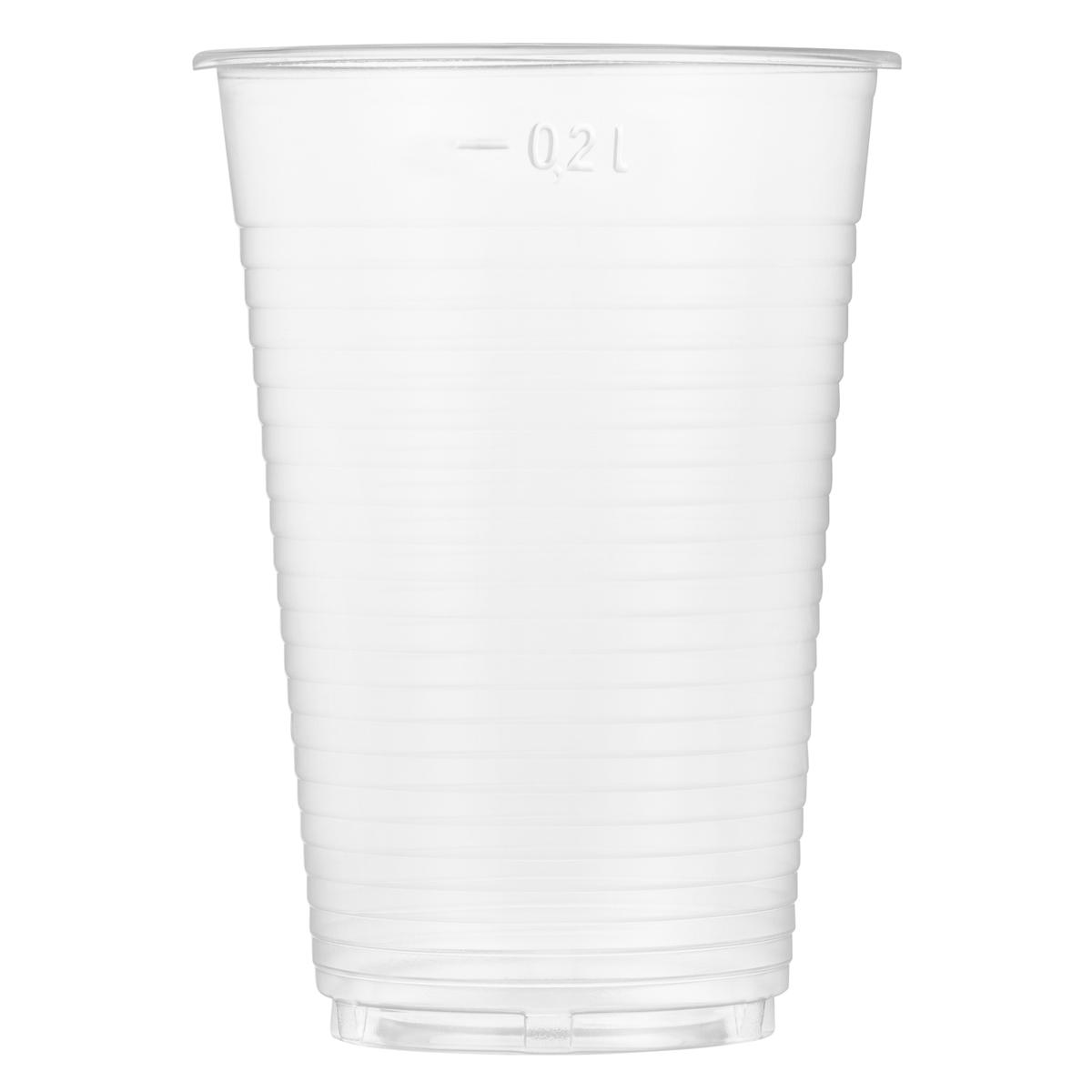 Plastična čaša za vodu 0,2l